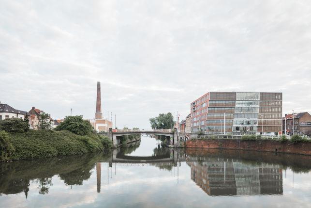 Kantoren ter beschikking bedrijvencentrum Gent Dampoort