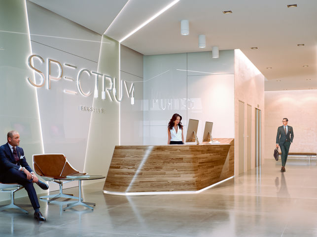 Spectrum Office Building - New office space for rent in Brussels
