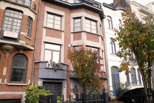Kantoorruimte te huur in Brussels herenhuis