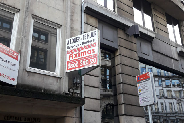 Offices to let at the Brussels Central Railway Station