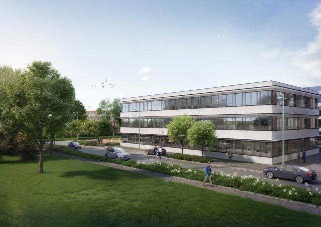 Nieuwbouw kantoren te koop & huur aan Gent Zuid