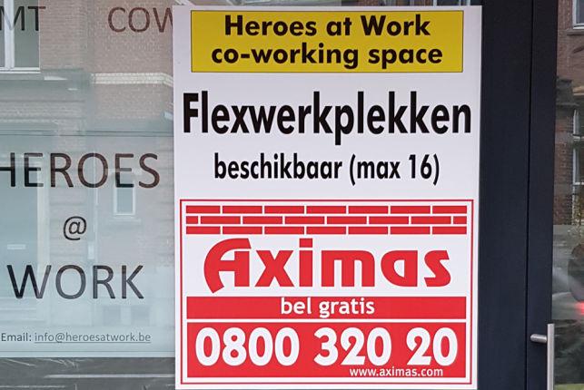 Flexspace te huur aan het Station van Leuven