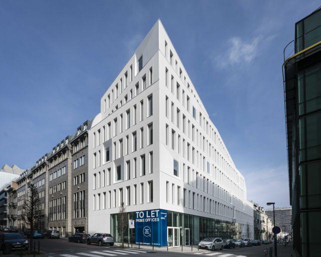 Nieuwbouw kantoren te huur in de Brusselse Leopoldswijk nabij de Europese commissie