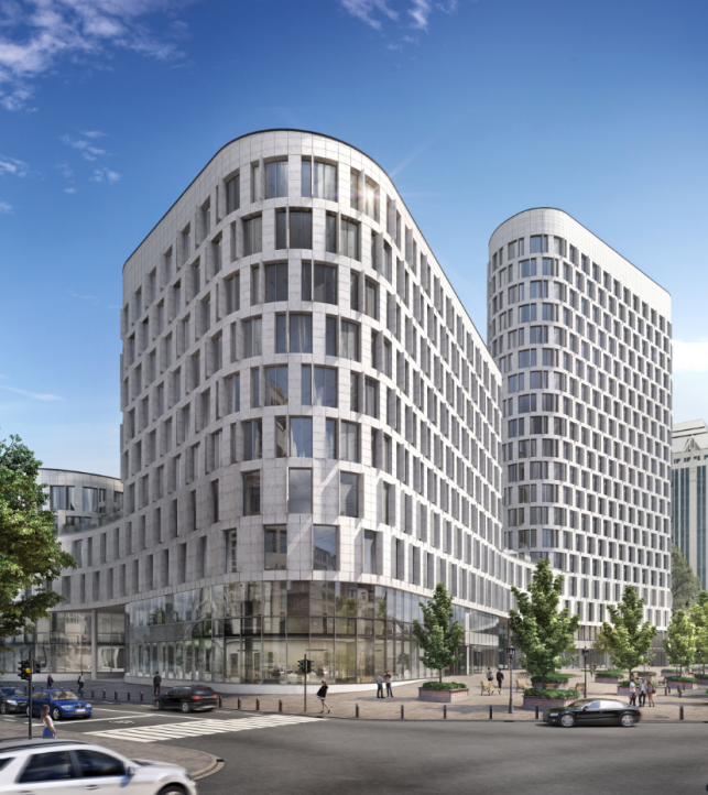 New offices for rent in the Brussels North Quarter