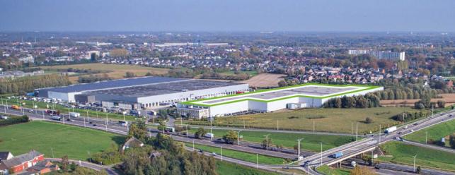 Hoogwaardige logistieke ruimte in Willebroek