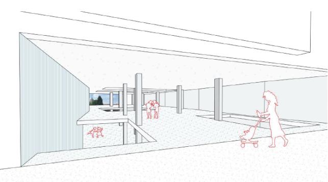 Nieuwbouw kantoren of winkel aan het Station van Leuven