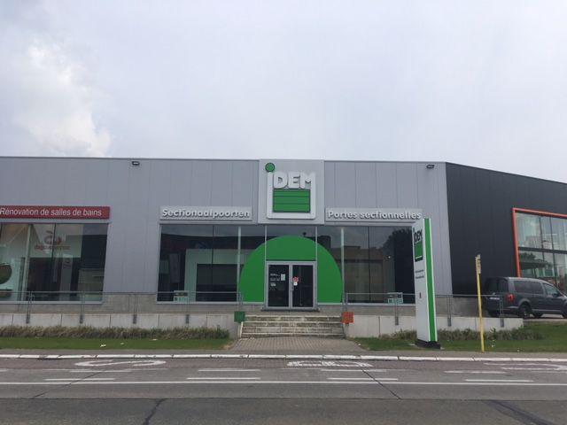 Bedrijfspand met showroom te huur in Woluwe