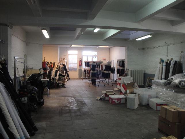 Atelier & opslag te huur in Brussel