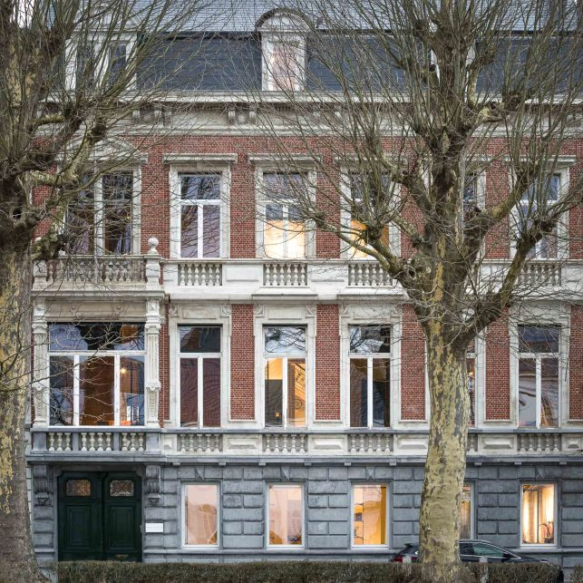 Kantoorruimte in bedrijvencentrum Amplahouse in Gent