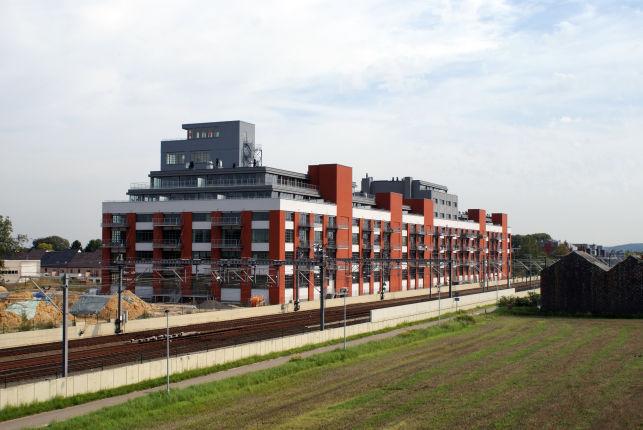Nieuwbouw kantoren te koop aan het Station van Herent bij Leuven