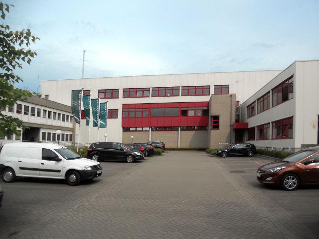 Logistiek magazijn in Brussel west