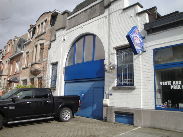 Polyvalent space to let in Brussels - Anderlecht
