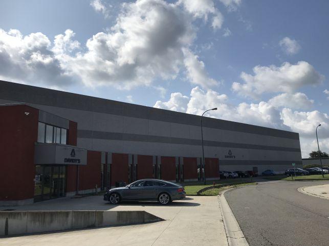 Vastgoed investering bestaande uit logistiek magazijn aan de Luchthaven van Luik