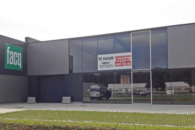 Bedrijfspand te huur in Aarschot met showroom & opslag