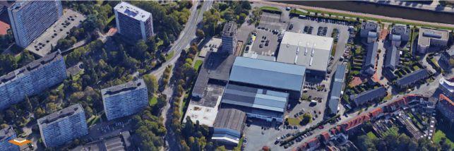 Distributiecentrum met magazijn en kantoor te huur in Brussel - Anderlecht