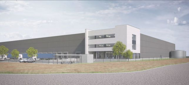 Large logistics warehouses for rent Kluizendok Ghent