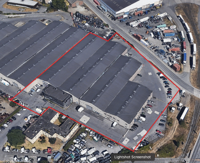 Warehouse for sale with outdoor storage in the Port of Ghent