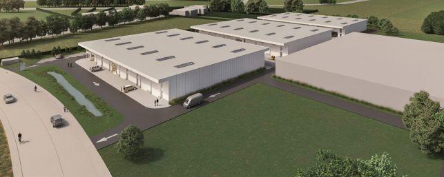 Nieuwbouw KMO-units te koop in Lubbeek bij Leuven