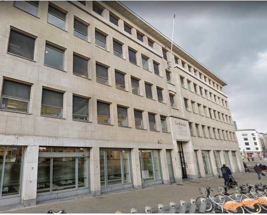 Prime offices to let near the Brussels Central Station