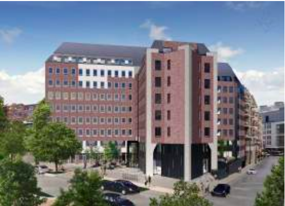 New offices to let near Brussels Luxembourg railway station