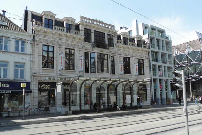 Bourdon Arcade Gent - kantoor, showroom & winkel te huur