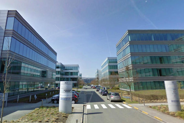 Offices to let at the Brussels ring motorway