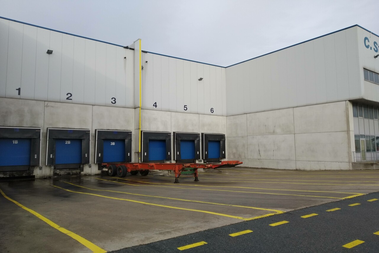 Warehouse for rent in the Port of Antwerp