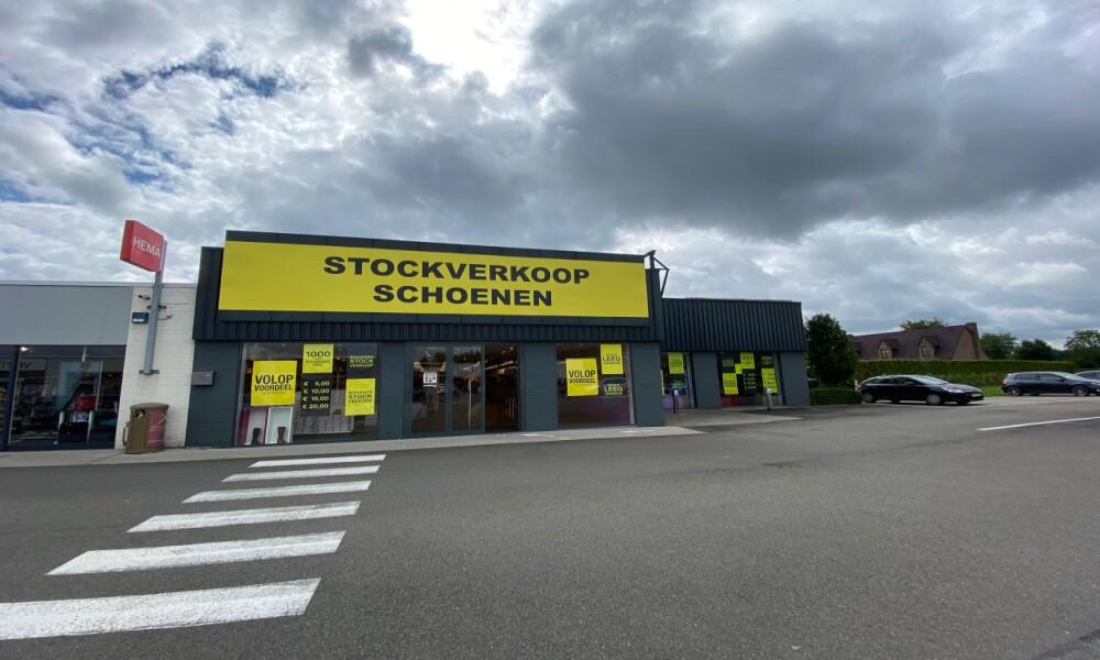 Retail warehouse to let near Leuven