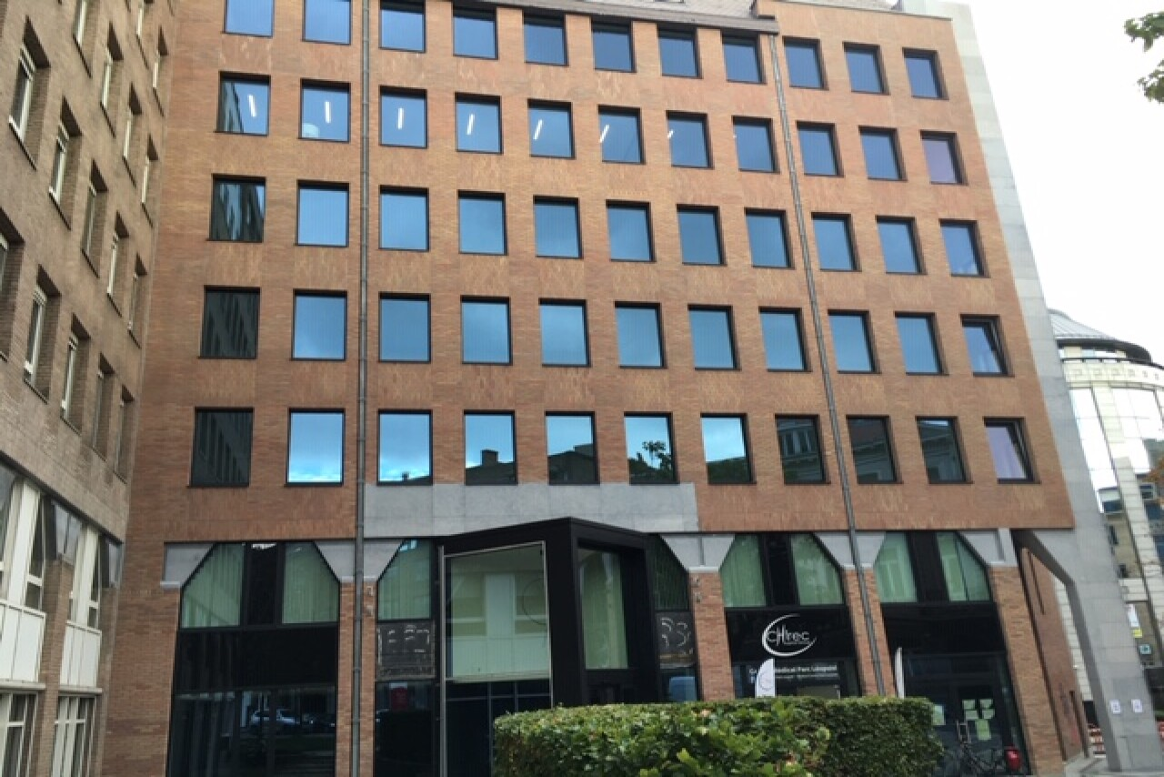 Trône 100 - New offices to let near Brussels Luxembourg railway station