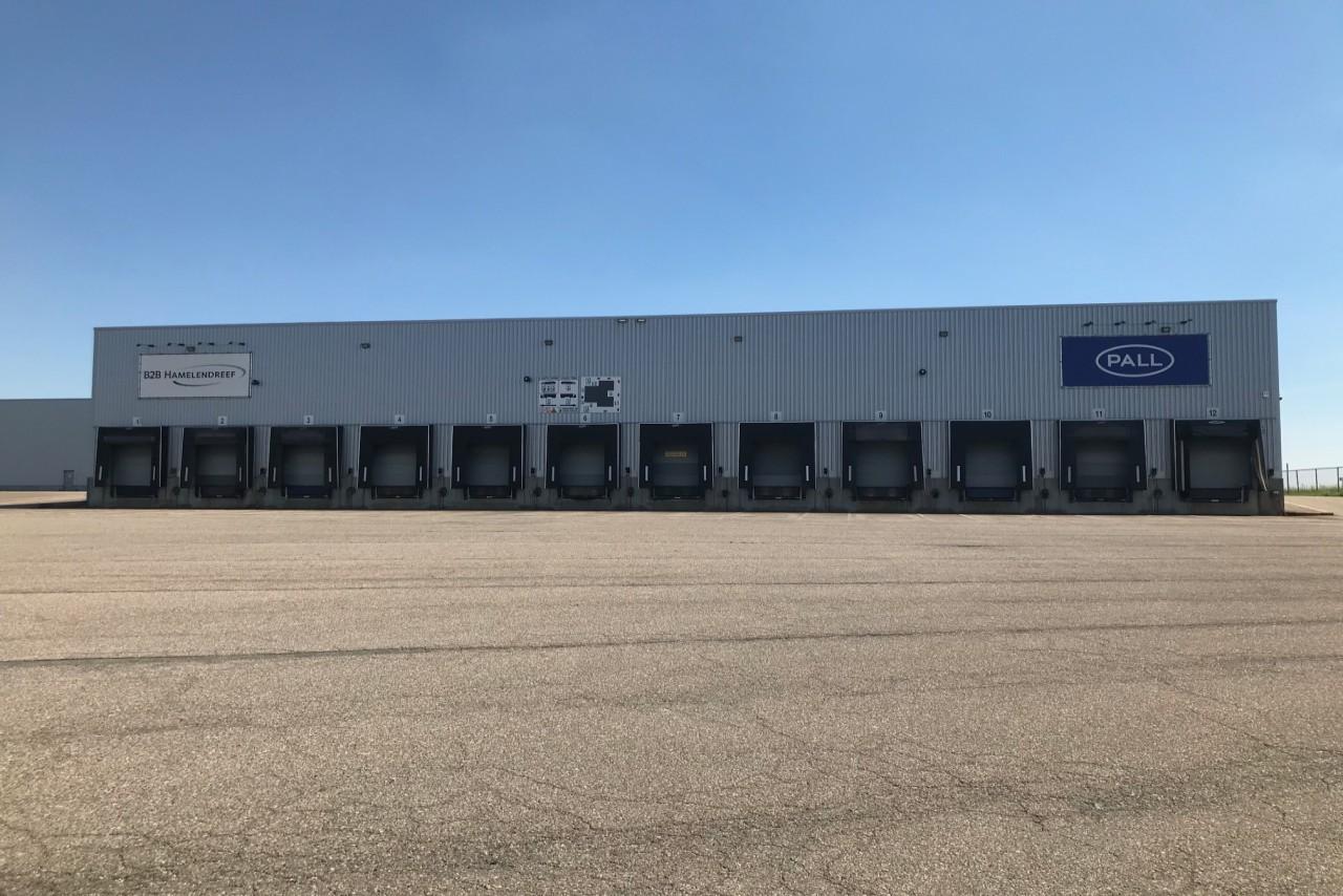 Logistics warehouse in Tienen