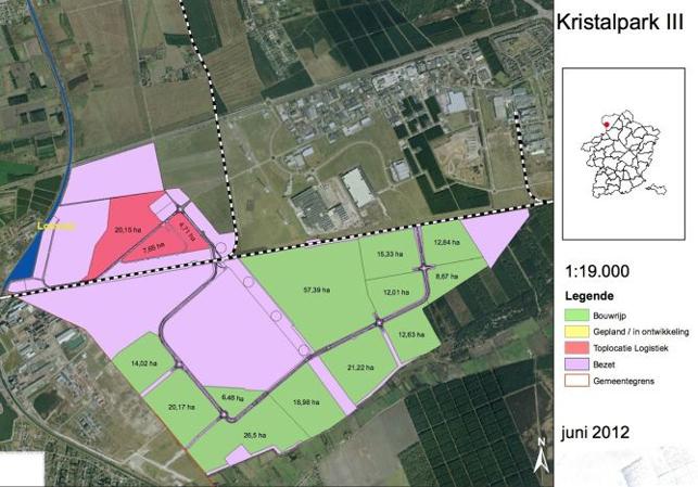 Terrain industriel à vendre en Limbourg | Kristal Park III