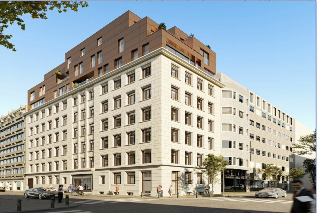Offices to let in the Leopold Quarter in Brussels