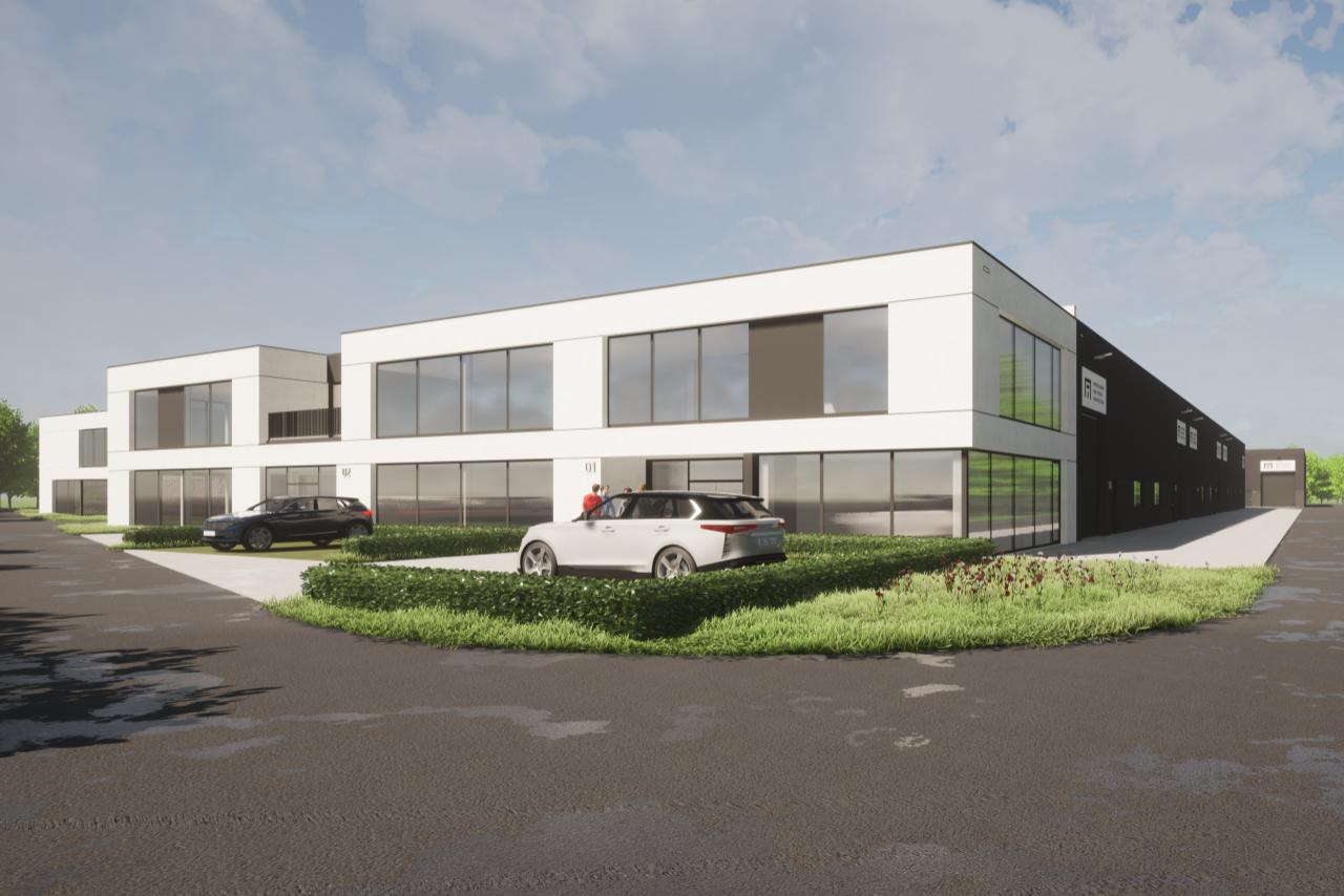 Bedrijvenpark Schietveld - warehouse unit for sale