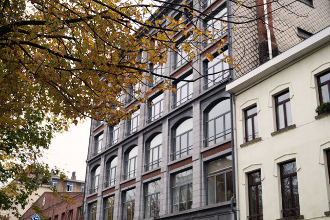 Hooimarkt 55 Brussel-Noord - loft kantoor te huur