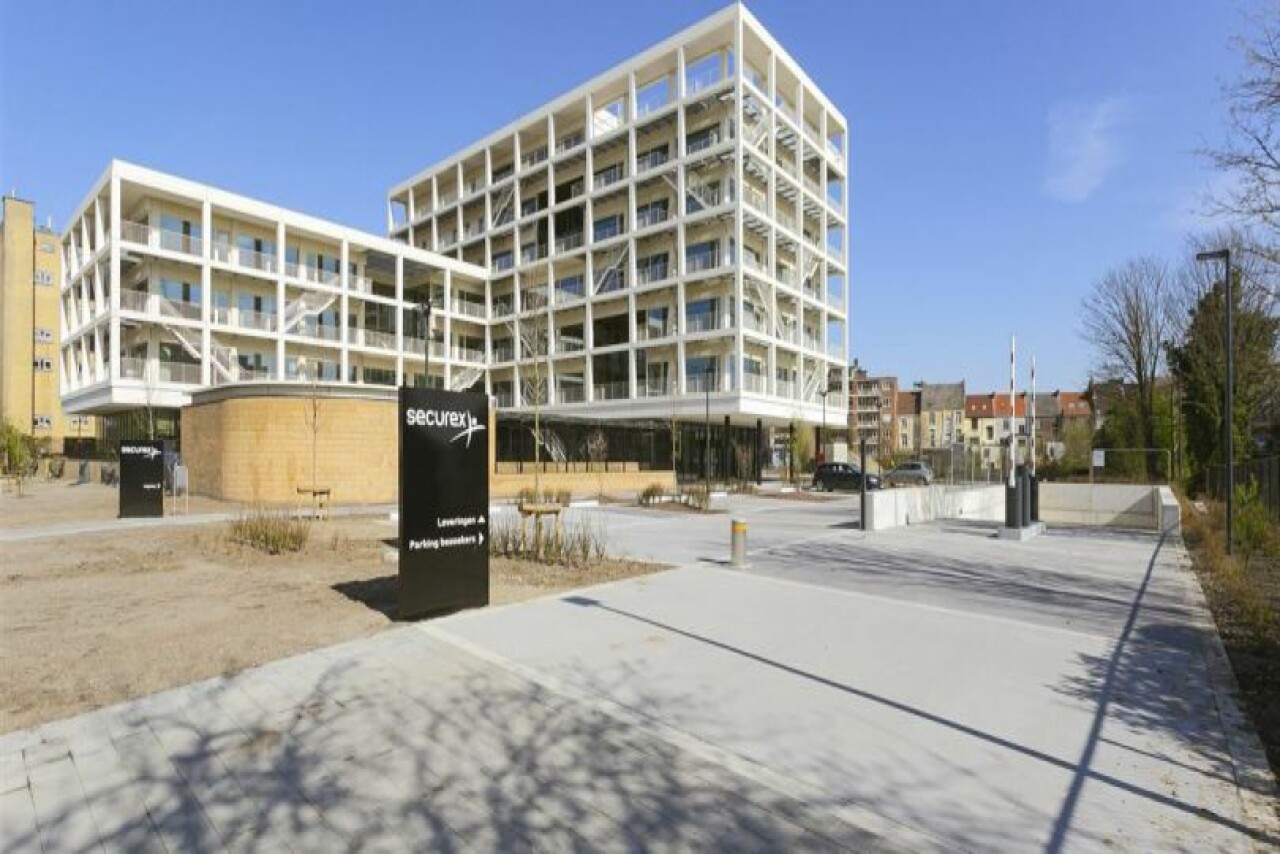 Offices to let at the Watersportbaan in Ghent