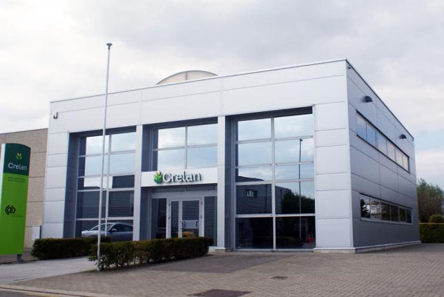 Bedrijfsgebouw met kantoor te huur in Merelbeke bij Gent