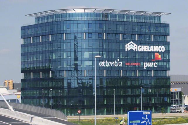 Blue Towers kantoren te huur Ghelamco Arena Gent