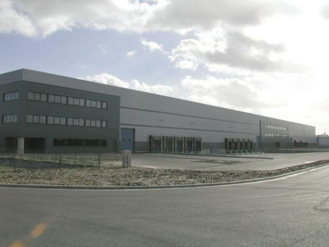 Distribution warehouse to let - Bornem Logistics Antwerp