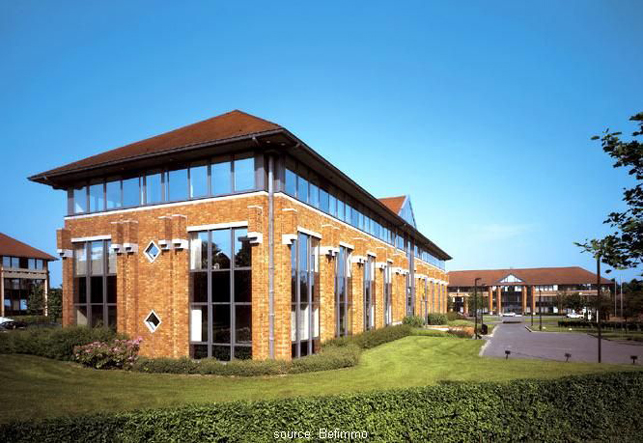 Kantoren te huur in Waterloo Office Park in Waals-Brabant