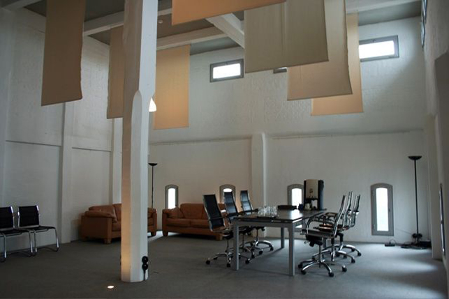 Penthouse loft office for rent on Campus Remy near Leuven