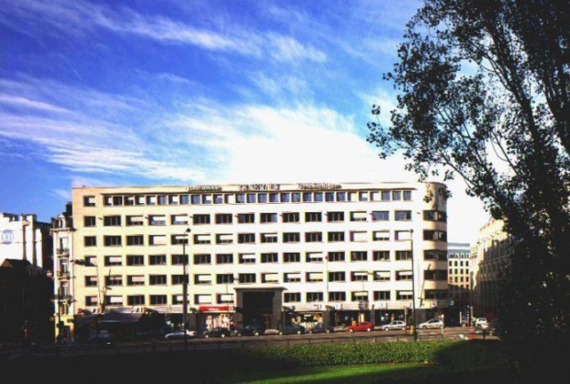 Impératrice | Brussels office space to let near the Central station