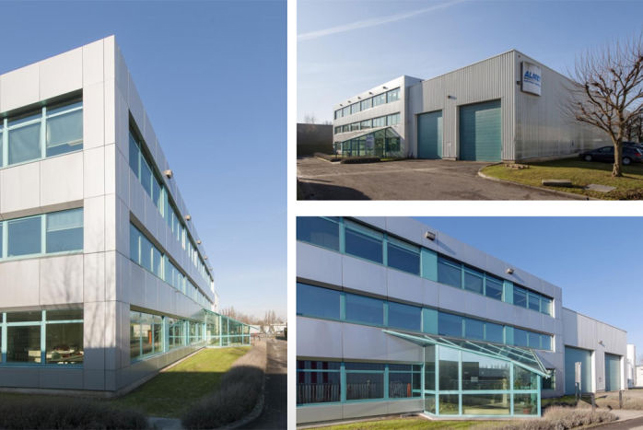 Lusambo Brussels: industrial warehouse & offices for sale