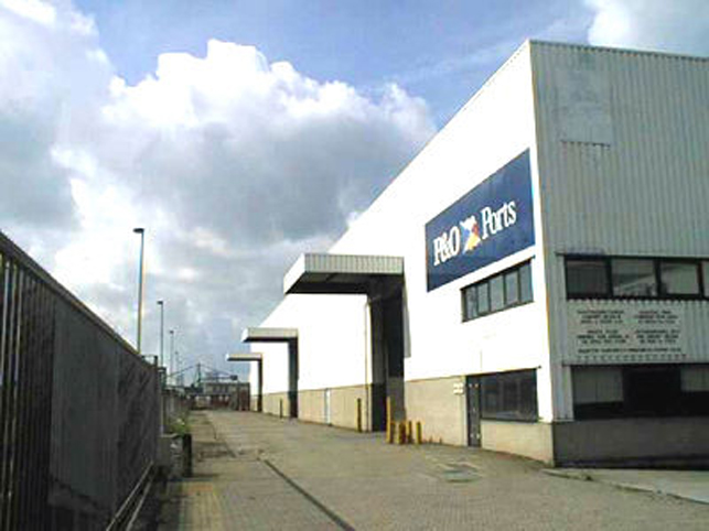 Distribution centre to let in Port of Antwerp