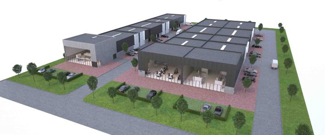 Tongeren Limburg: production warehouse & showroom for sale