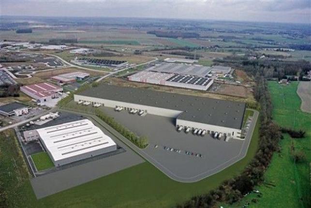 Logistieke bedrijfsruimte te huur in Charleroi
