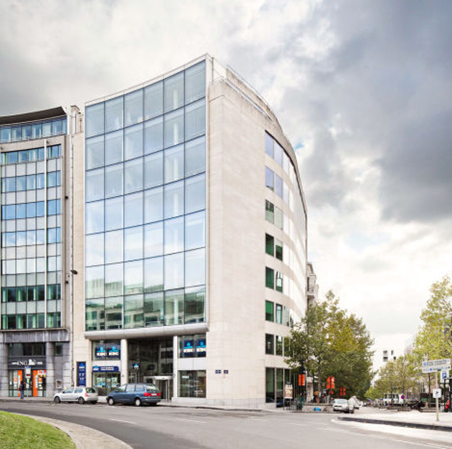 Brussels Schuman round-about office space for rent
