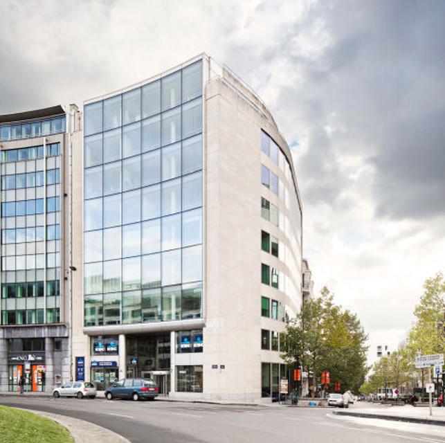 Kantoor te huur aan het Schumanplein in Brussel