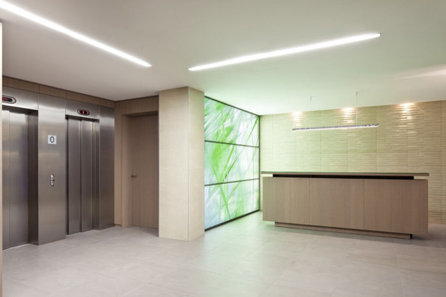 European district: office space for rent in Brussels