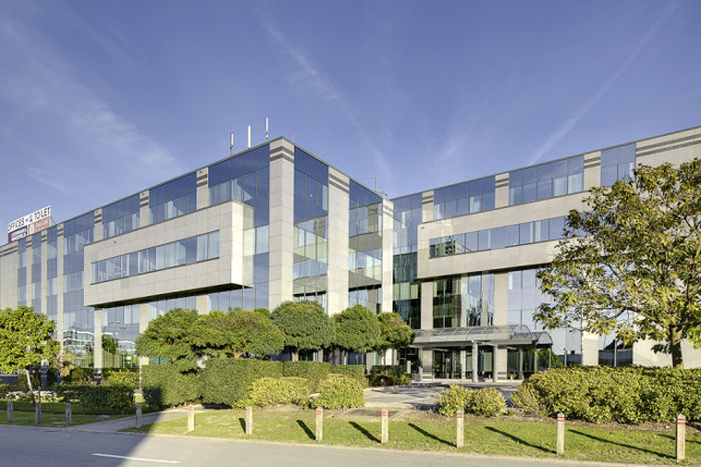 Brussels airport Diegem office space to let