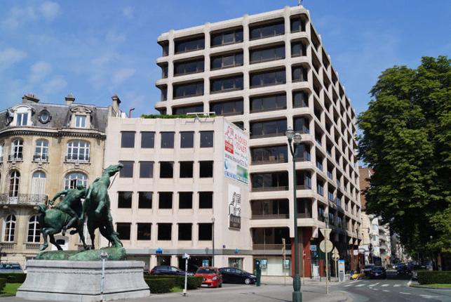 Legrand Building - kantoor te huur Louizalaan Brussel